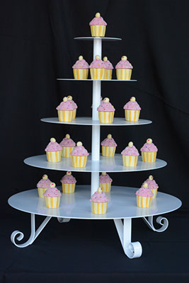 5-Tier Cupcake Stand $35.00