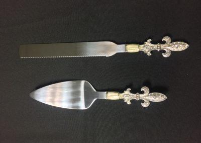 Fleur De Lis Knife/Server $4.50