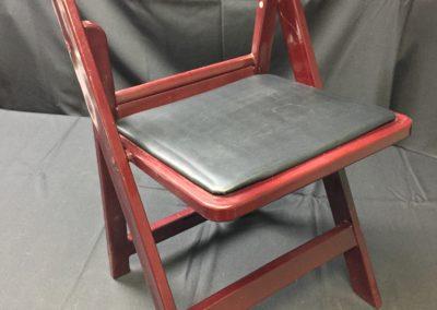 Mahogany Padded Garden Chair